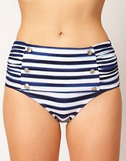 Seafolly Seaview Starlet High Waisted Bikini Pant