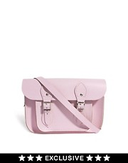 "Cambridge Satchel Company Exclusive To ASOS Baby Pink 11"" Satchel"