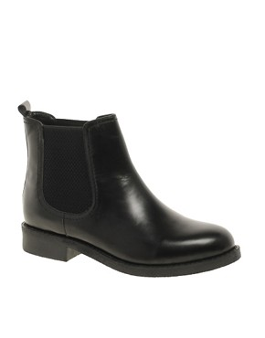 Image 1 ofASOS ATHENS Leather Chelsea Ankle Boots