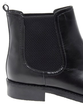 Image 2 ofASOS ATHENS Leather Chelsea Ankle Boots