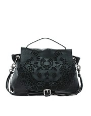 Amused by Ameko Laser Cut Leather Bag