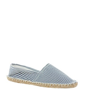 Image 1 ofLondon Rebel Striped Espadrille