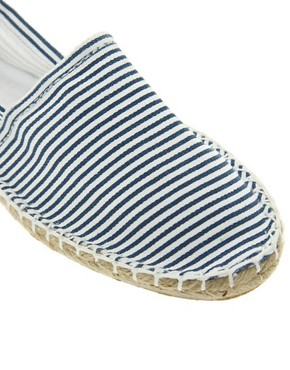 Image 2 ofLondon Rebel Striped Espadrille