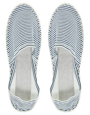 Image 3 ofLondon Rebel Striped Espadrille