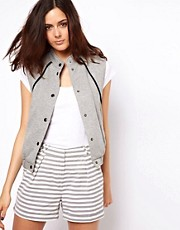 ASOS Jersey Bomber Gilet