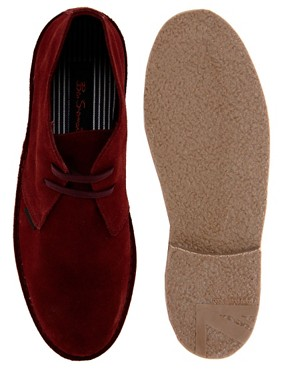 Image 3 ofBen Sherman Clegg Suede Desert Boots