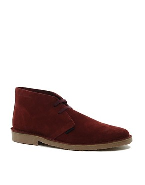 Image 1 ofBen Sherman Clegg Suede Desert Boots