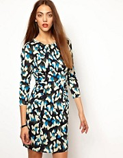 Whistles Izzey Print Body-Conscious Dress