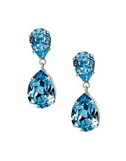 Krystal Swarovski Pear Drop Earrings