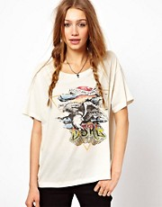 Denim & Supply By Ralph Lauren &ndash; T-Shirt mit Adlermotiv