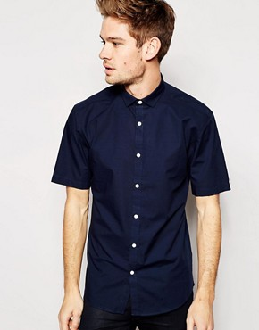Selected Short Sleeve Formal Shirt in Slim Fit