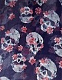 Image 2 ofASOS Skull And Floral Scarf