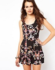 Minkpink Melody Cross Back Dress