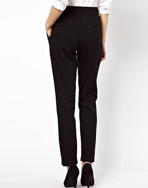Image 2 ofASOS PETITE Basic Peg Trousers