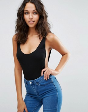 ASOS Vest Body With Scoop Back