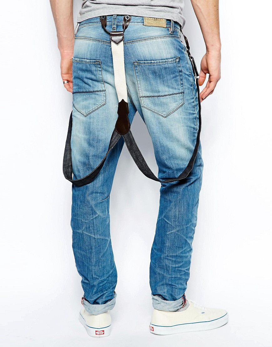 Image 2 ofPull&Bear Jeans with Braces
