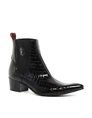 Jeffery West Croc Chelsea Boots