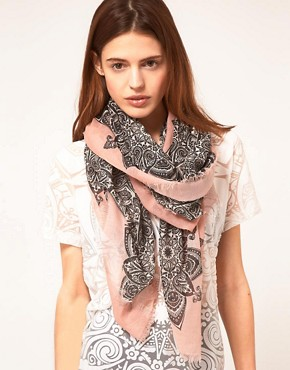 Image 1 ofJonathan Saunders Blush Scarf