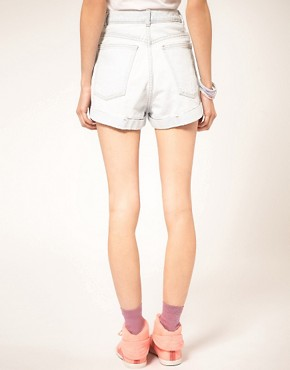 Image 2 ofAmerican Apparel Denim Shorts