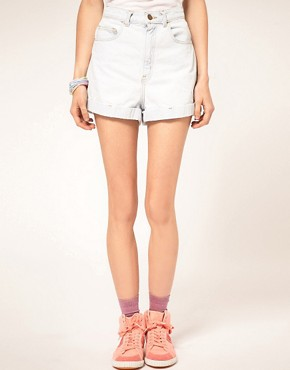 Image 4 ofAmerican Apparel Denim Shorts