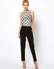 ASOS Trousers with Pom Pom Detail