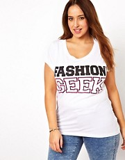New Look Inspire Fashion Geek T-Shirt