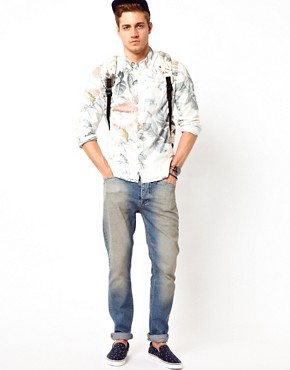 Image 4 ofASOS Shirt With Floral Print