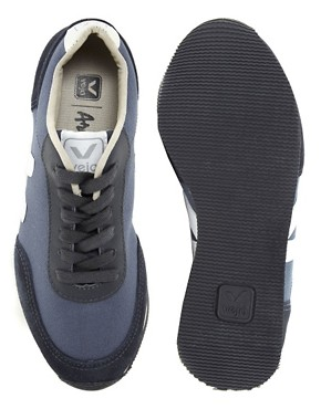 Image 3 of Veja Arcade Blue Low Top Trainers