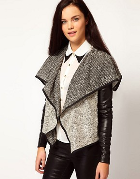 Image 1 of&#160;River Island Drape Jacket