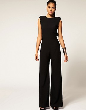 Image 1 ofAqua  Spock  Tailored Wide Leg Jumpsuit