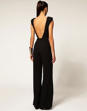 Image 2 ofAqua  Spock  Tailored Wide Leg Jumpsuit