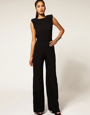 Image 4 ofAqua  Spock  Tailored Wide Leg Jumpsuit