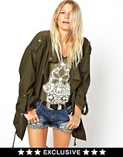 ASOS PETITE Exclusive Parka