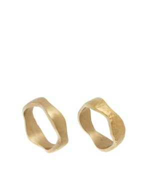 Image 1 ofMade Vuu Set Of Two Stack Rings