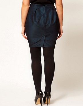 Image 2 of ASOS CURVE Exclusive Tulip Skirt
