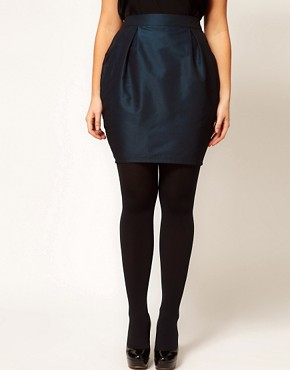 Image 4 of ASOS CURVE Exclusive Tulip Skirt