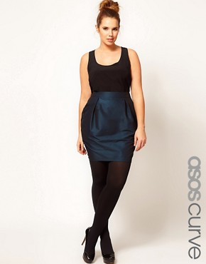 Image 1 ofASOS CURVE Exclusive Tulip Skirt