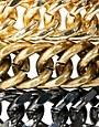 Image 4 ofASOS Pack of Three Chunky Chain Bracelets