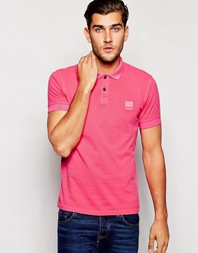 BOSS Orange Polo Shirt with Logo