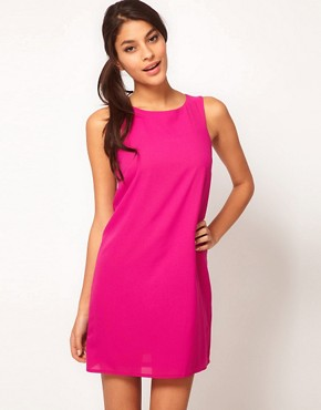 Image 1 ofASOS Simple Shift Dress