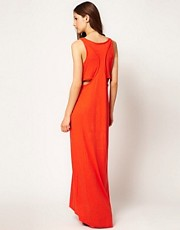 rag & bone /JEAN Maxi Dress With Cut Out Back