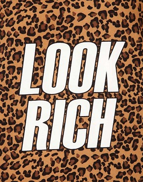 Image 3 ofA Question Of Look Rich Organic T-Shirt