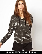 Religion Zebra Print Hoodie Exclusive To ASOS