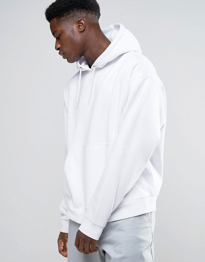 Weekday Big Hawk Hoodie - White