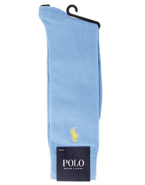 Image 3 ofPolo Ralph Lauren Ribbed Socks