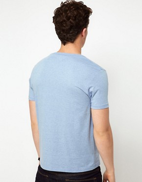 Image 2 ofASOS T-Shirt With Deep V Neck