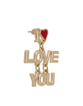 Image 3 ofASOS Love You Earrings