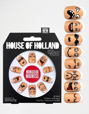 House Of Holland By Elegant Touch - Monsieur Madness - Unghie