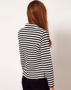 Image 2 ofA Wear Stripe Blazer