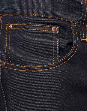 Image 3 ofNudie Grim Tim Dry Dirty Organic Straight Jean